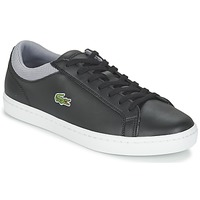 Shoes Men Low top trainers Lacoste STRAIGHTSET SP 117 2 Black