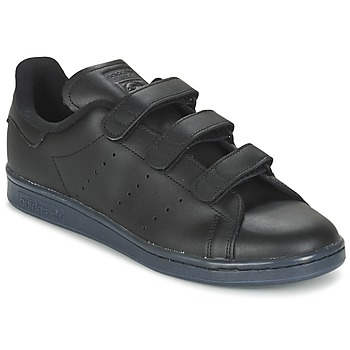 Shoes Men Low top trainers adidas Originals STAN SMITH CF Black