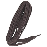 Accessorie Accessories Famaco Lacet plat 90 cm marron fonce Brown / Dark