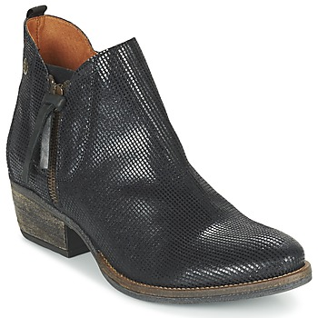 Shoes Women Mid boots Coqueterra LIZZY Black