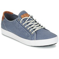Shoes Men Low top trainers Blackstone NM95 Blue