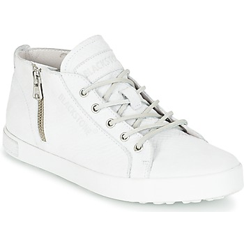 Shoes Women High top trainers Blackstone NL35 White