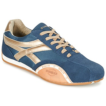 Shoes Men Low top trainers Bunker LEMANS MARINE / Gold / Orange
