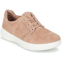 Shoes Women Low top trainers FitFlop SPORTY-POP X CRYSTAL Pink