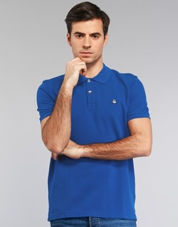 material Men short-sleeved polo shirts Benetton FOBIKA Blue