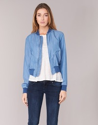material Women Denim jackets Benetton FERMANO Blue / MEDIUM