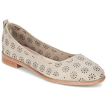 Shoes Women Ballerinas Clarks ALANIA ROSA BEIGE