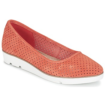 Shoes Women Ballerinas Clarks EVIE BUZZ CORAL