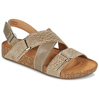 Shoes Women Sandals Clarks ROSILLA ESSEX Brown