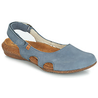 Shoes Women Sandals El Naturalista WAKATAUA Blue
