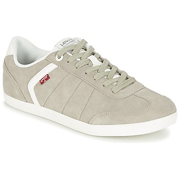 Shoes Men Low top trainers Levi's LOCH Grey