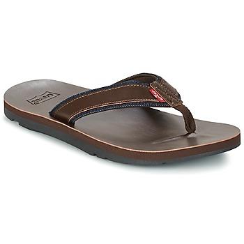 Shoes Men Flip flops Levi's JURUPA Brown