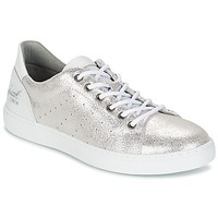 Shoes Girl Low top trainers Bullboxer AVIME Grey / Silver