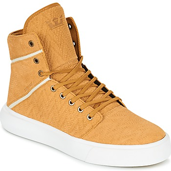 Shoes Men High top trainers Supra CAMINO Yellow