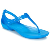 Shoes Women Sandals Crocs CROCS ISABELLA T-strap Blue