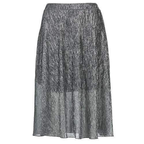 material Women Skirts Betty London FOYEUSE Silver