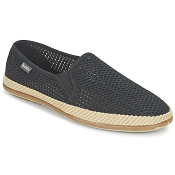 Shoes Men Slip ons Bamba By Victoria COPETE ELASTICO REJILLA TRENZA Black