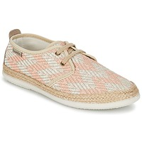 Shoes Women Low top trainers Victoria BLUCHER TEJIDO ZIG-ZAG Salmon