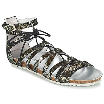 Shoes Women Sandals Regard RABAZO Black / Silver