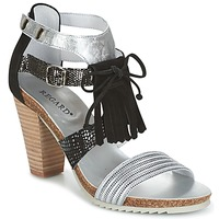 Shoes Women Sandals Regard RIKA Silver / Black