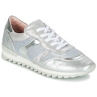 Shoes Girl Low top trainers Unisa DAYTONA Silver