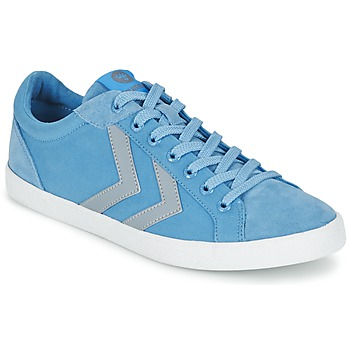 Shoes Low top trainers Hummel DEUCE COURT SUMMER Blue