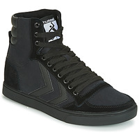 Shoes Men High top trainers Hummel TEN STAR TONAL HIGH Black