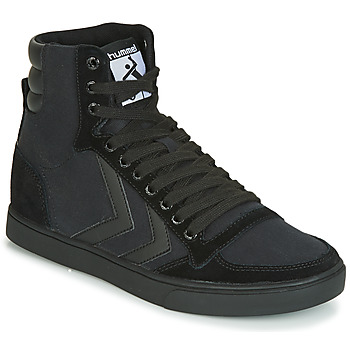 Shoes Men High top trainers Hummel TEN STAR TONAL HIGH Black