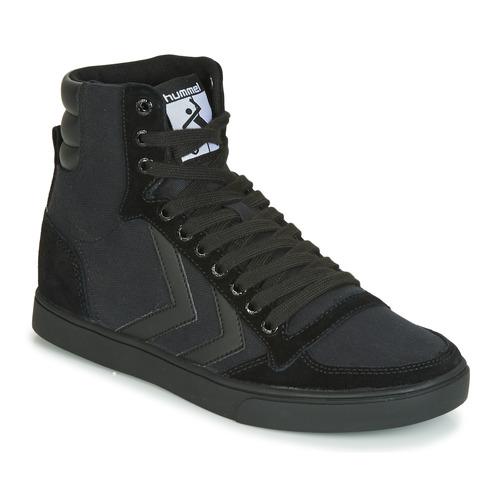Shoes High top trainers Hummel TEN STAR TONAL HIGH Black
