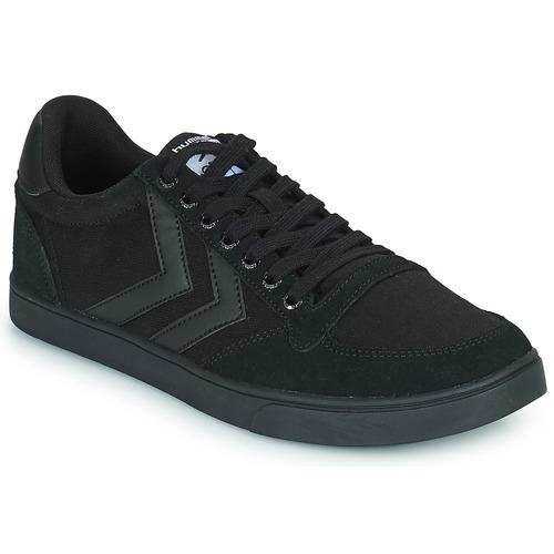 Shoes Men Low top trainers Hummel TEN STAR TONAL LOW Black