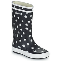 Shoes Children Wellington boots Aigle LOLLY POP PRINT MARINE