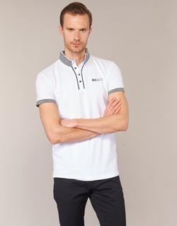 material Men short-sleeved polo shirts Deeluxe SQUART White