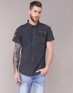material Men short-sleeved shirts Deeluxe BURTY Grey