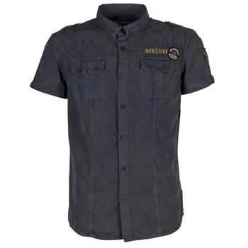 material Men short-sleeved shirts Deeluxe BURTY Grey