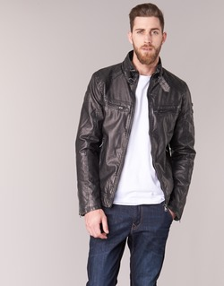 material Men Leather jackets / Imitation leather Deeluxe SPANGLE Black
