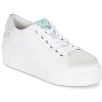Shoes Women Low top trainers Ippon Vintage TOKYO FUN White