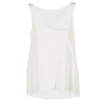 material Women Tops / Sleeveless T-shirts Desigual ROMINESSA White