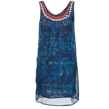 material Women Short Dresses Desigual LIORISE Blue