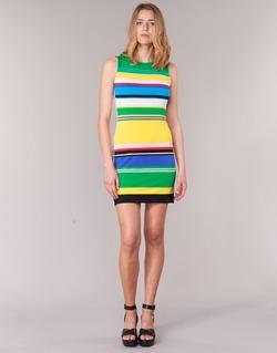 material Women Short Dresses Desigual LIURASE Multicoloured