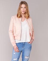 material Women Blouses Schott BOMBER BY SCHOTT Pink