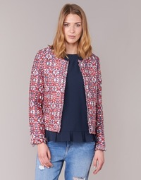 material Women Jackets / Blazers See U Soon 7151121 Red / Blue / White