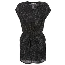 material Women Short Dresses See U Soon 7121114 Black