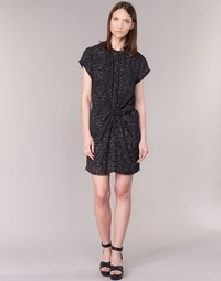 material Women Short Dresses See U Soon 7121114 Black