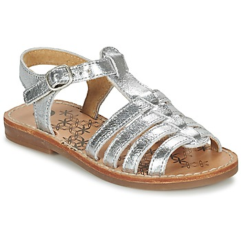 Shoes Girl Sandals Babybotte YLONA Silver