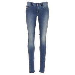 material Women slim jeans Diesel LIVIER Blue / 0679E