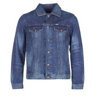 material Men Denim jackets Diesel NHILL Blue