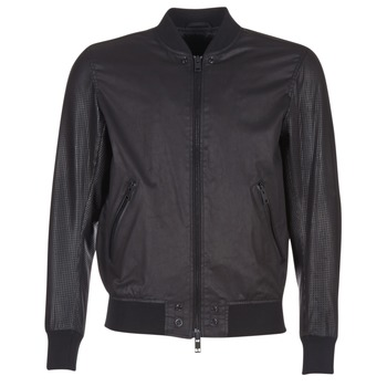 material Men Leather jackets / Imitation leather Diesel L POWELL Black