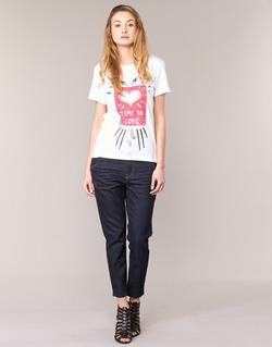 material Women Boyfriend jeans Diesel FAYZA EVO Blue / 0853N
