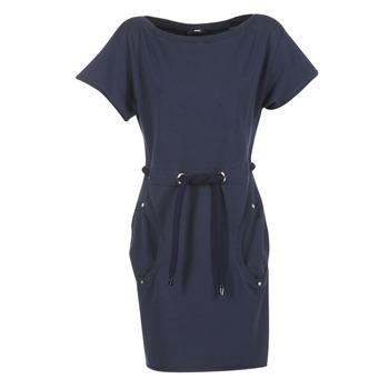 material Women Short Dresses Diesel D SOSNA MARINE