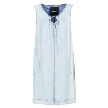 material Women Short Dresses Diesel DE ISBEC Blue
